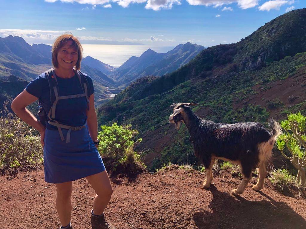 Anaga Gebirge mit Blick aufs Meer