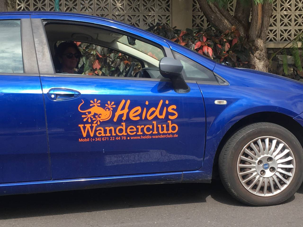 Auto Heidis Wanderclub Puerto de la Cruz