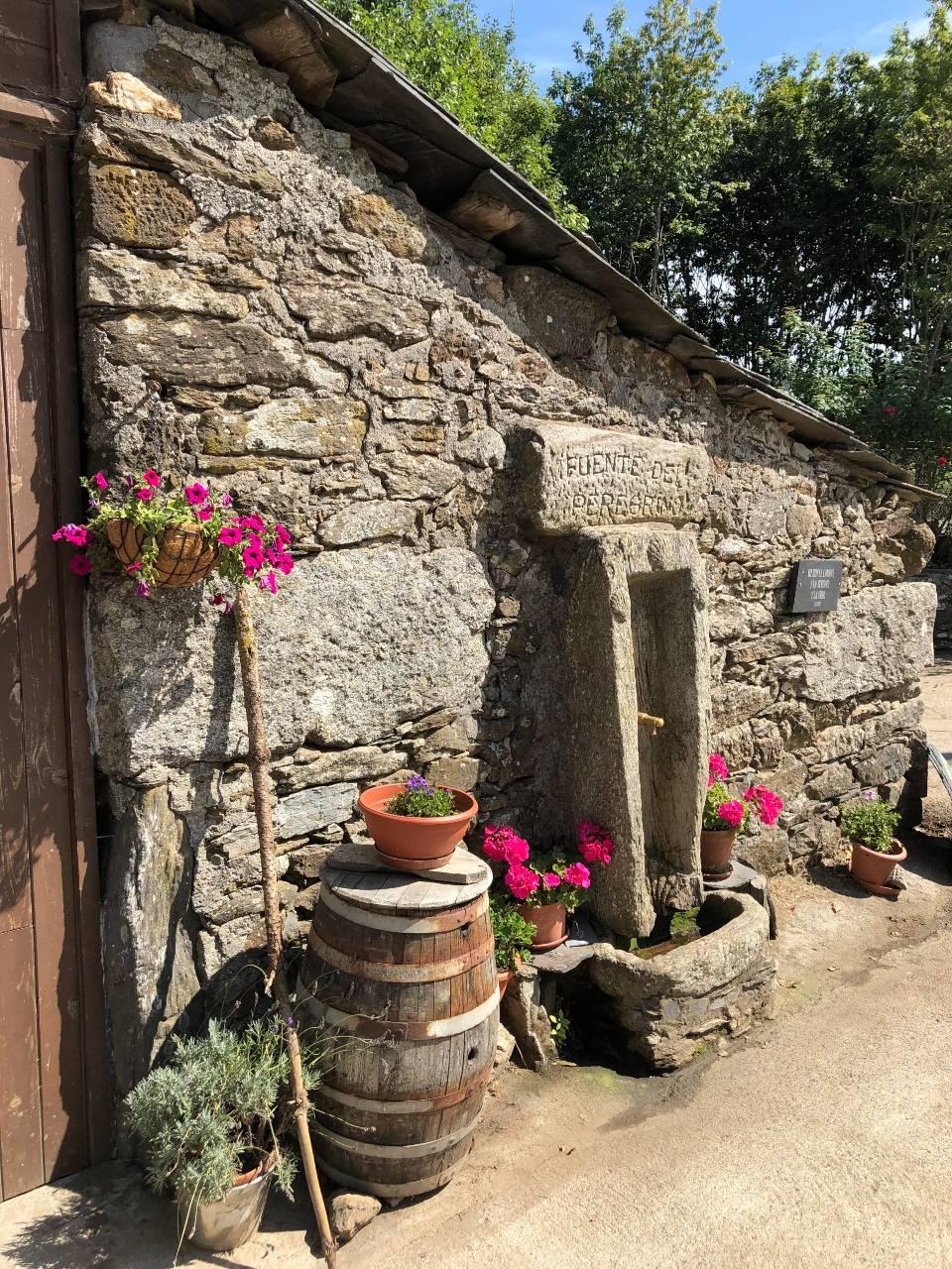 Brunnen für Pilger
