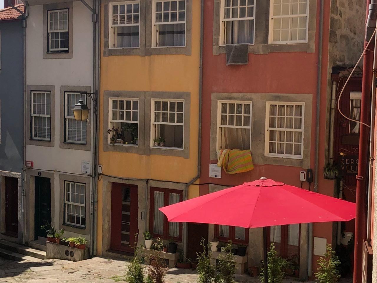 Gassen in Porto