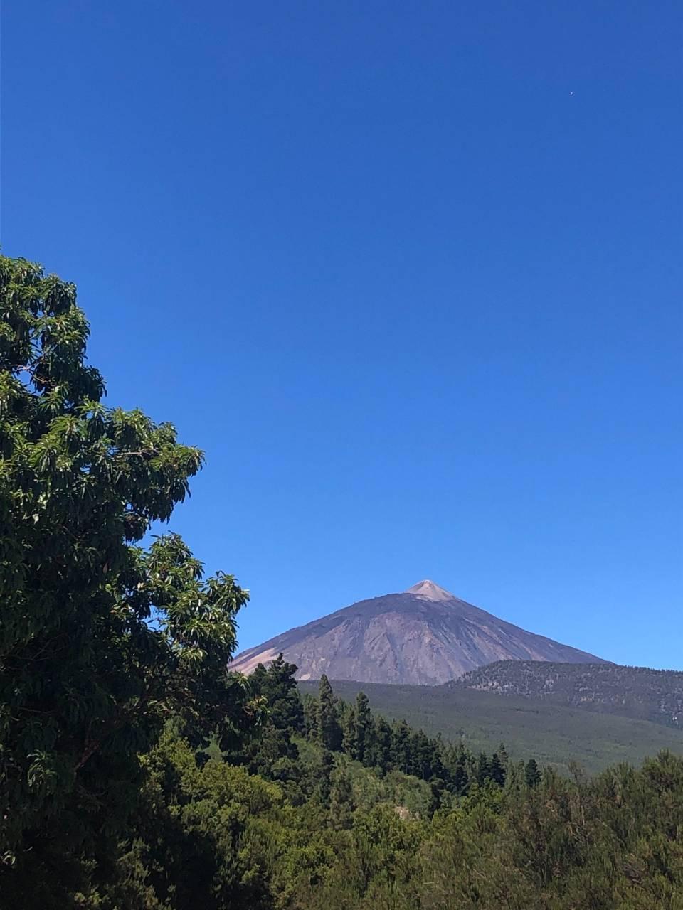 Landschaft mit Teide