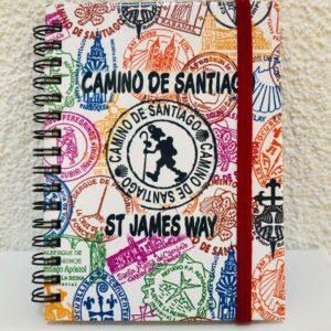 Notizbuch Jakobswege