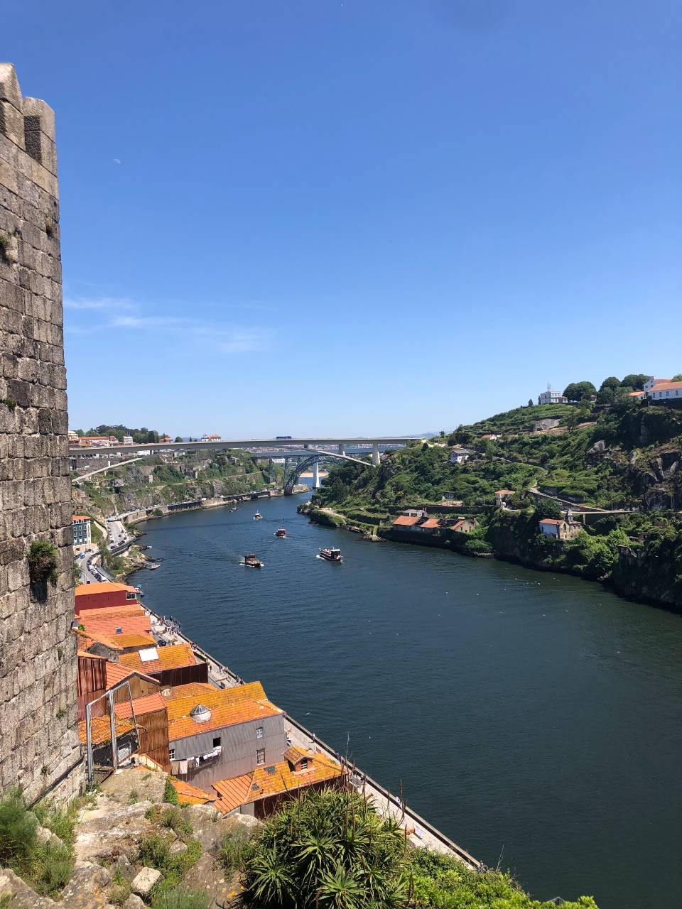 Porto Blick auf den Rio Douro