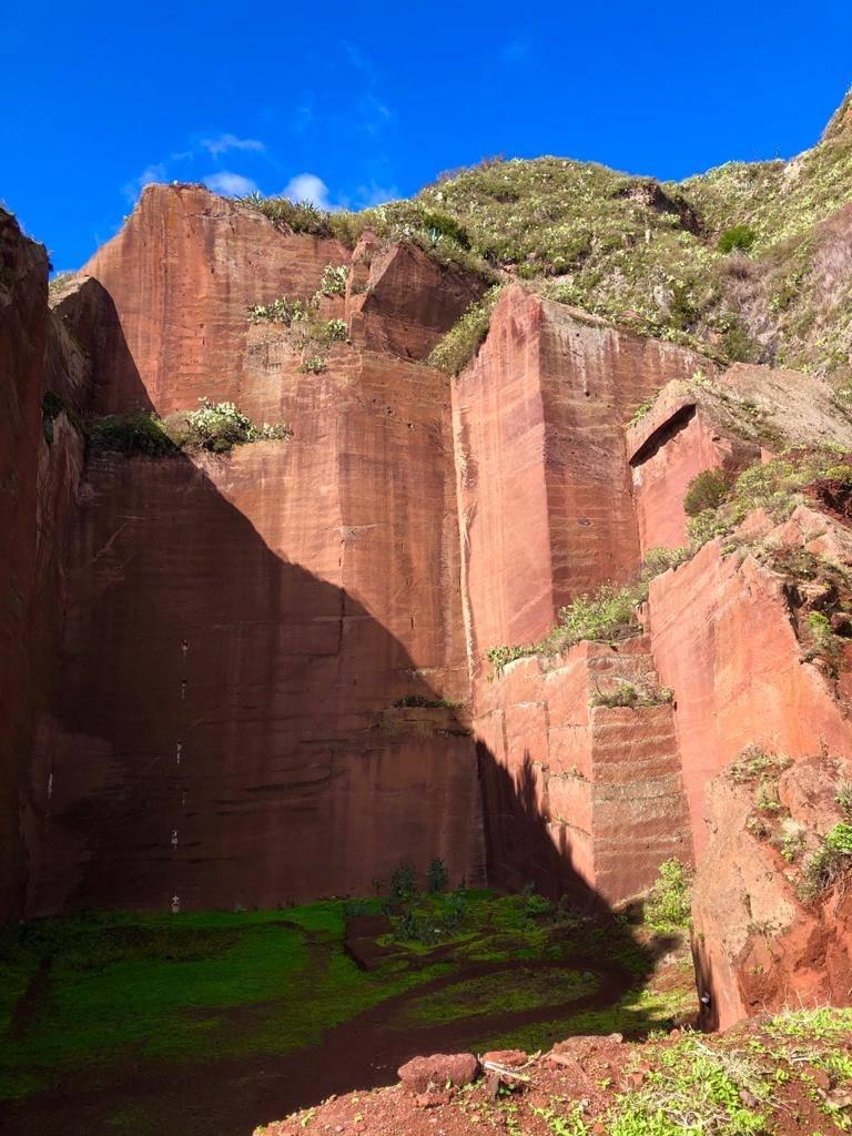 Roter Fels Anaga Gebirge, Teneriffa