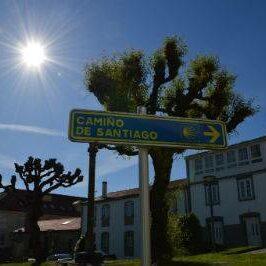 Wegweiser in Galicien