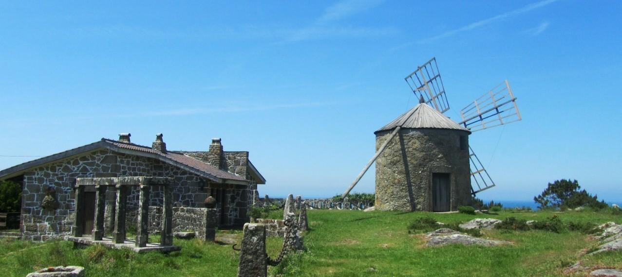 Windmühle bei Viana do Castelo